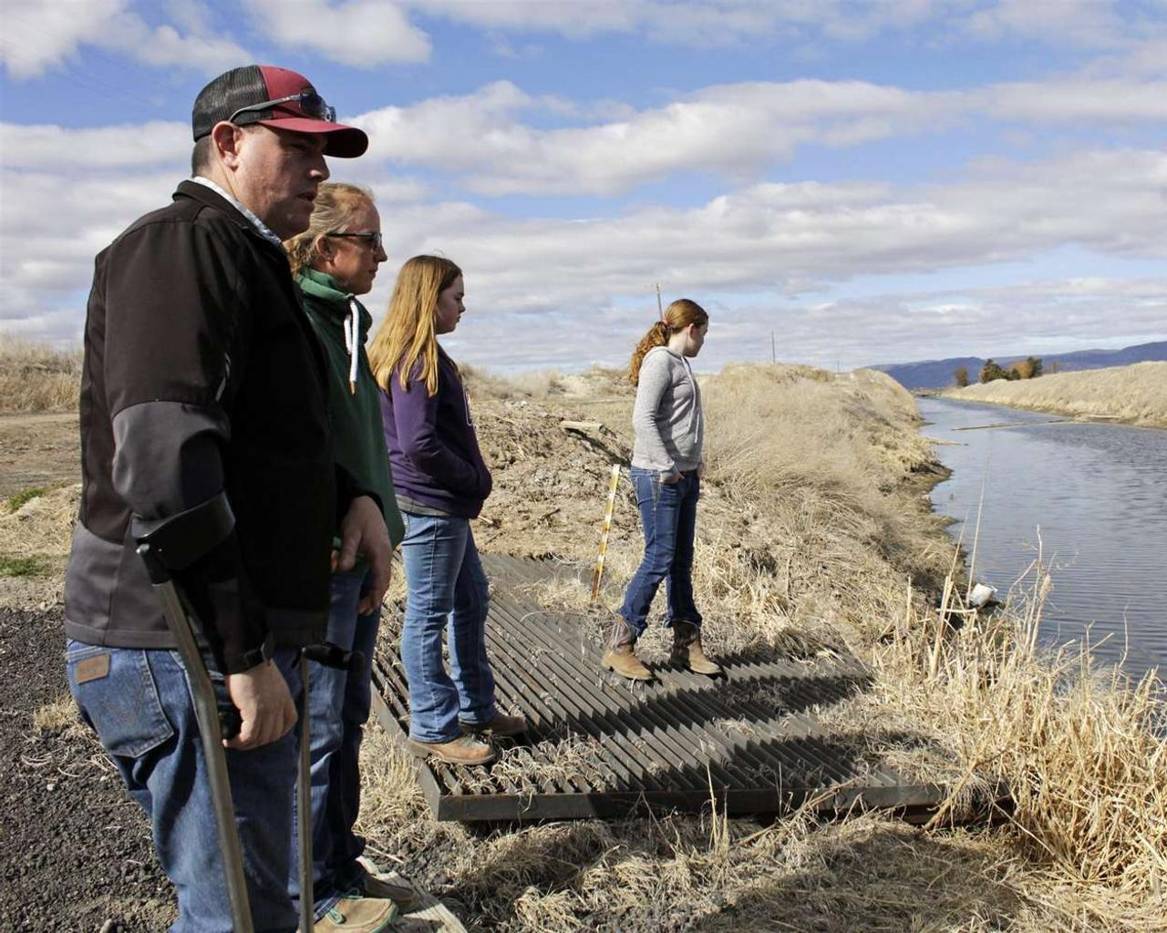 Epic drought means water crisis on Oregon-California border