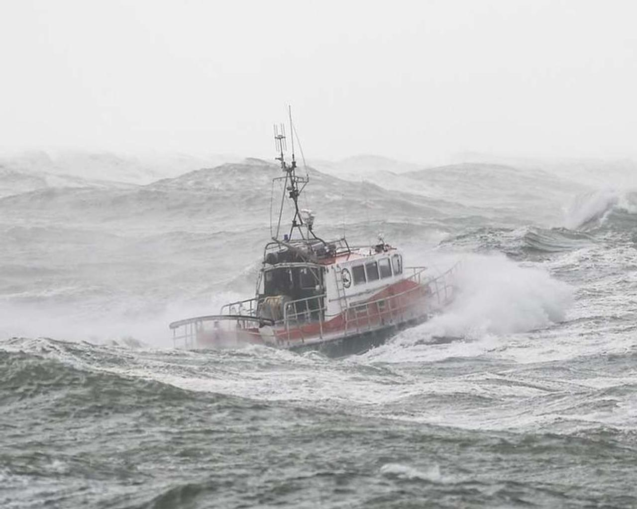 How a thunderstorm with the power of a hurricane capsized a ship